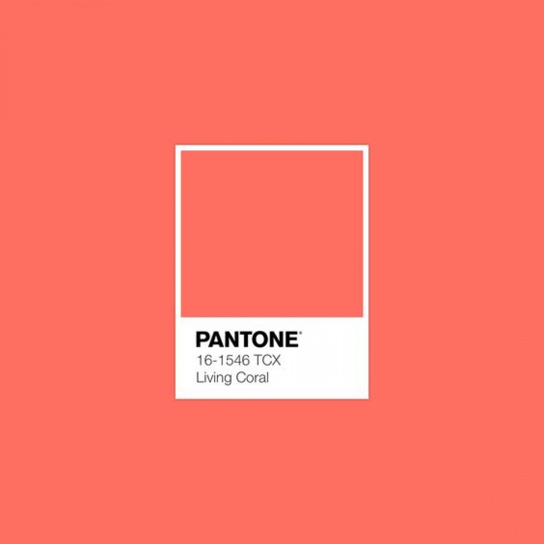 pantone coral 2019