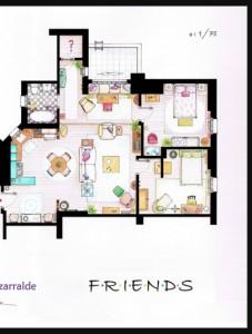 Friends floor plan