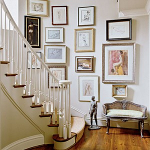 southern accents gallery wall
